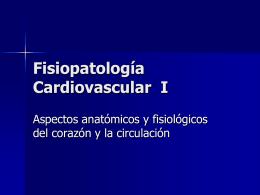 Fisiopatología Cardiovascular I