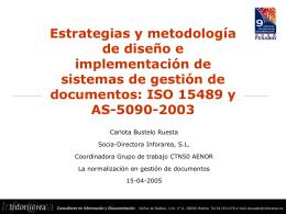 Estrategias y metodología de diseño e