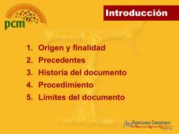 PROYECTO COMUNITARIO DE MISIÓN