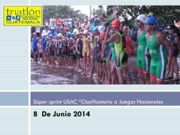 Diapositiva 1 - Federación Nacional de Triatlón