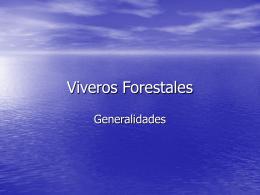 Viveros Forestales - Silvicultura Elección Libre |