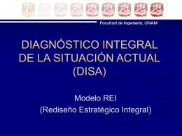 DIAGNÓSTICO INTEGRAL DE LA SITUACIÓN ACTUAL