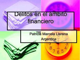 Delitos en el ámbito financiero