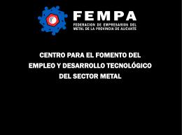 Diapositiva 1 - FEMPA - Federación de Empresarios