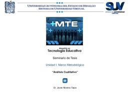 Diapositiva 1 - UAEH :: Universidad Autónoma del