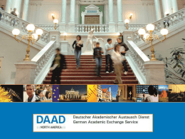 DAAD - International Programs