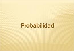 Tema 4: Introducción a la probabilidad
