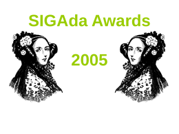 SIGAda Awards 2004