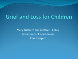 Grief and Loss for Children