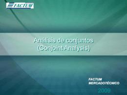 Diapositiva 1 - Factum Mercadotécnico, Agencia de