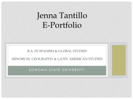 B.A. in Spanish & Global Studies Minors in