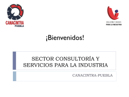 CONSULTORÍA Y SERVICIOSPARA INDUSTRIA