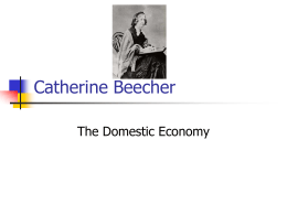 Catherine Beecher