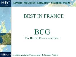 BCG 2004 - HEC Paris