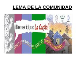 LA CARPIO - União Nacional por Moradia Popular