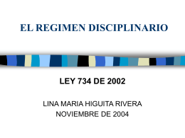 LEY 200 DE 1995 (CAUSAS - Exposición de Motivos)