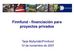Financiación de proyectos privados en mercados