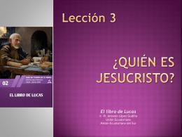 1. LA VENIDA DE JESÚS