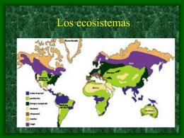Los ecosistemas - Colegio Público Juan de Vallejo