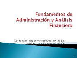 Fundamentos de Administración y Análisis