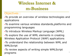 Wireless Internet and m