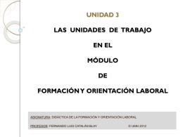 Diapositiva 1 - Bienvenido al OCW-UMH — OCW -