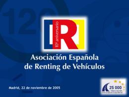 Diapositiva 1 - Asociación Española de Renting de