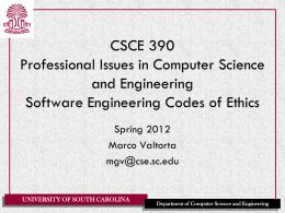 CSCE 330 Programming Language Structures
