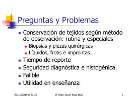 Método histológico, Tecnicas especiales IPX, para