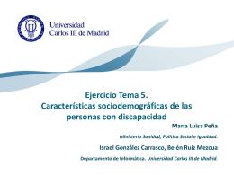 CARACTERISTICAS SOCIODEMOGRÁFICAS DE LAS PERSONAS