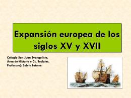 Expansión europea - Colegio San Juan Evangelista
