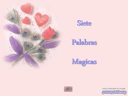 Siete palabras magicas - Fotografia y lugares de