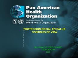 PROTECCION SOCIAL EN SALUD