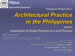 I&E of RA 9266 - Professional Regulatory Board of