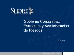 Órganos de Gobierno Estructura y Funciones
