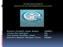 Diapositiva 1 - Tecnologías Químicas Alimentos. |