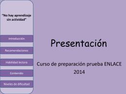 Presentación - filosofiaoa