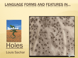 Language forms and features in… -