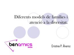 Diferents models de famílies i atenció a la