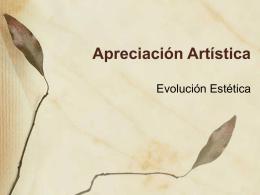 Apreciación Artística