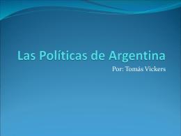 Las Políticas de Argentina