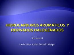 Hidrocarburos Aromáticos - QUIMICA 2015 Medicina,