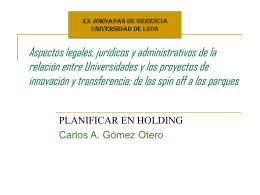 Aspectos legales, jurídicos y administrativos de