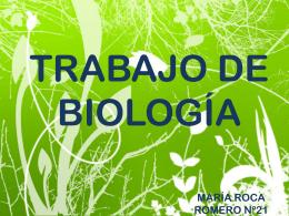TRABAJO DE BIOLOGÍA