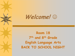 Welcome! [www.pvsd.k12.ca.us]