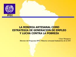 Importancia social y económica de la minería
