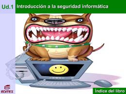 UD1 SEGURIDAD INFORMÁTICA - ||| EDITEX ||| Libros