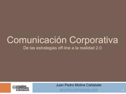 Comunicación Corporativa 2.0