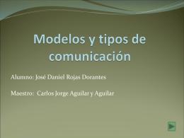 Modelos y tipos de comunicación