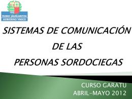 SISTEMAS DE COMUNICACIÓN DE LAS PERSONAS